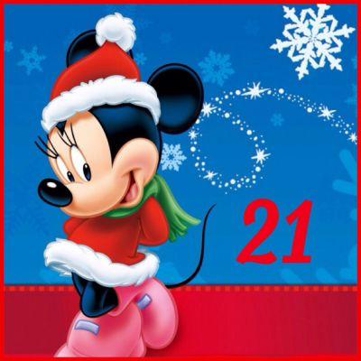 21 Days Until Christmas / Minnie Mouse / Christmas Countdown | Christmas Countdown 2013 ...