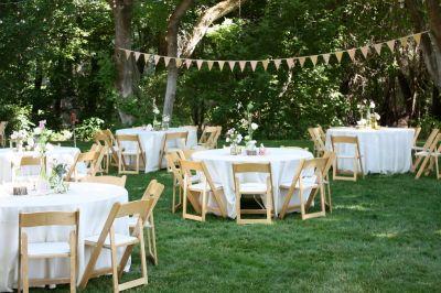 backyard wedding reception decoration ideas | Wedding ...