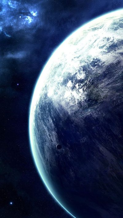 Spectacular Outer Space Planet View #iPhone #5s #wallpaper ...