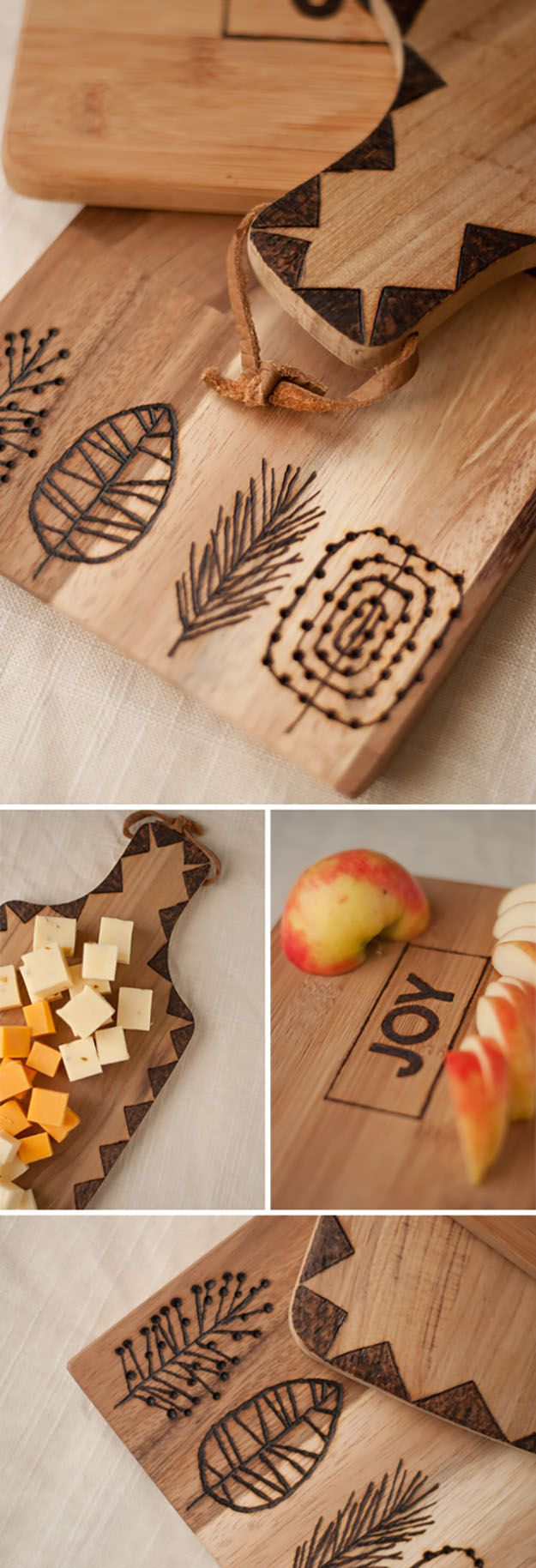 diy kitchen ideas DIY Gifts for Friends Family DIY Kitchen Ideas Etched Wooden Cutting Boards