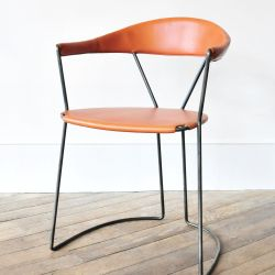 Y Chair in Tan by Rose Uniacke Rose Uniacke a Machine Bent Hand