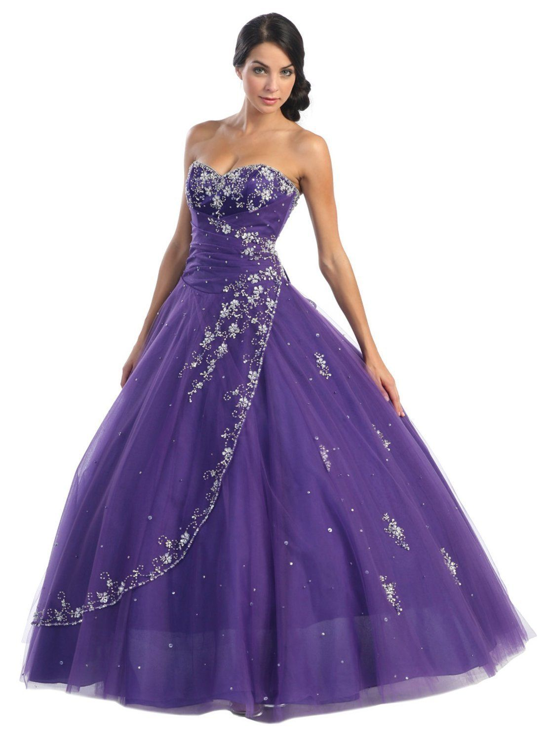 purple dresses for wedding Beauty Purple Wedding Gown Theme Favors and Decorating Ideas