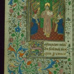W 186 Fol 276v Bruges 1460 Illuminated Manuscripts