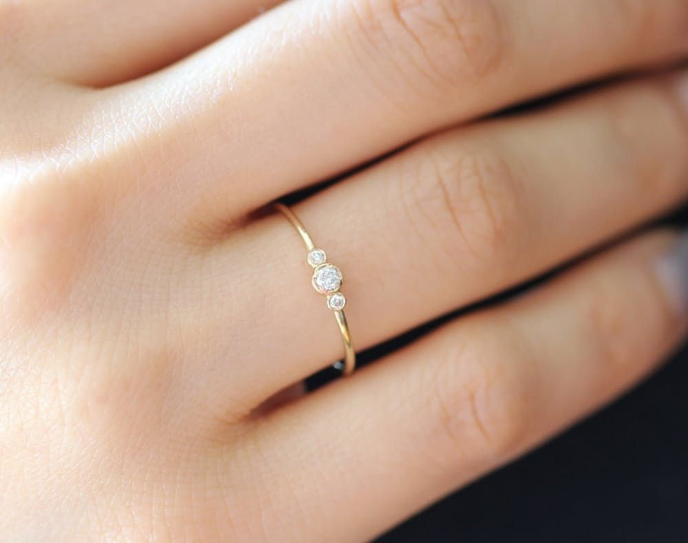 alternative engagement rings affordable wedding rings 15 Beautiful Budget Friendly Alternative Engagement Rings