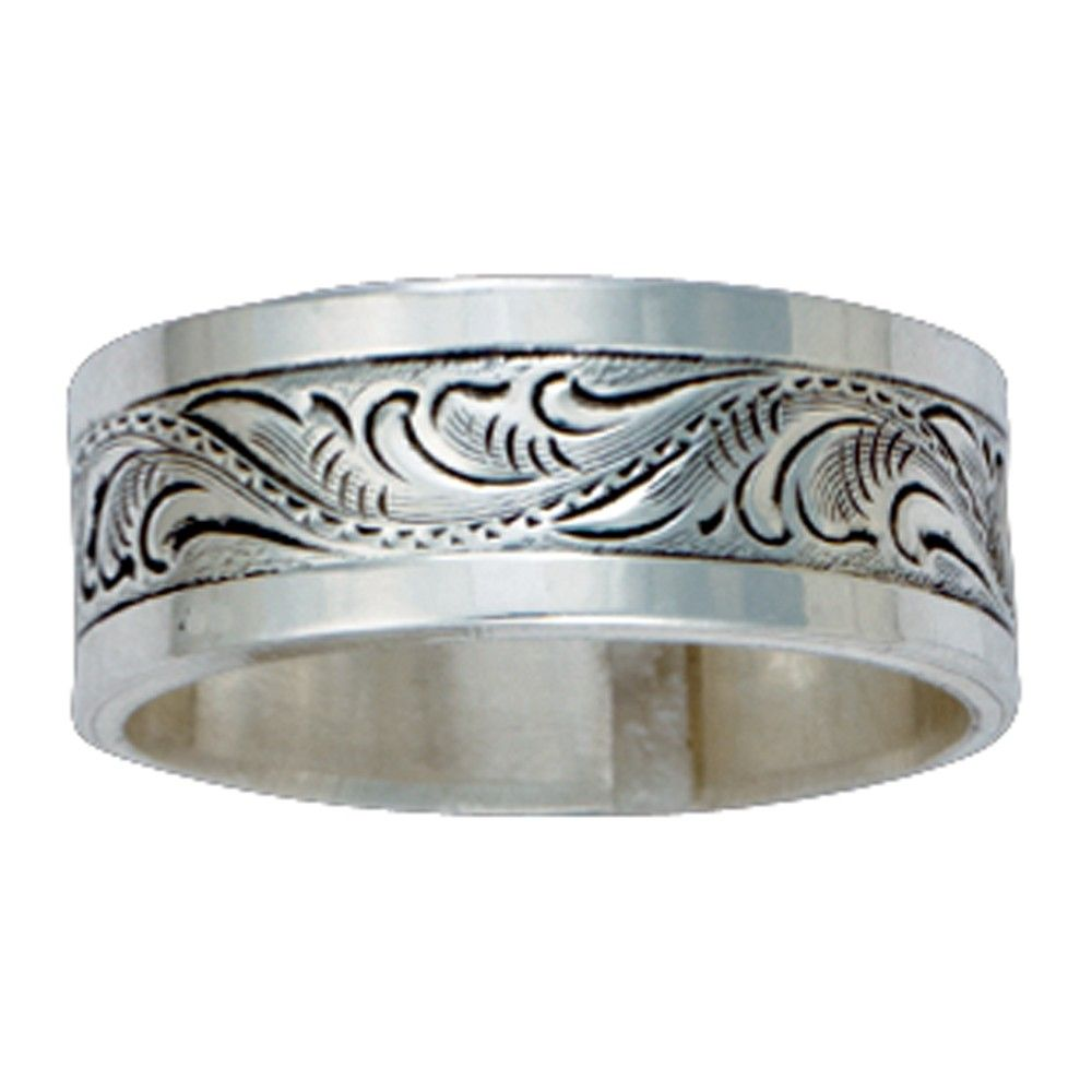 mens country wedding bands Western Cowboy Wedding Rings I want to get this for my husband for one of our anniversaries