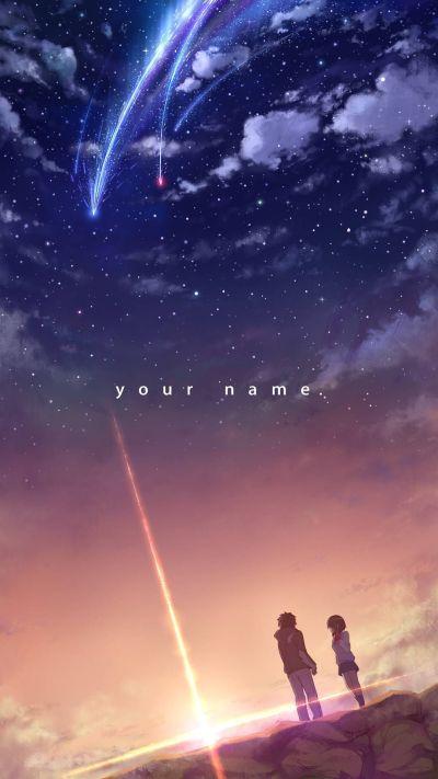 Your Name/Kimi no na wa (1080x1920) | Hintergrundbilder iphone, Manga anime und iPhone