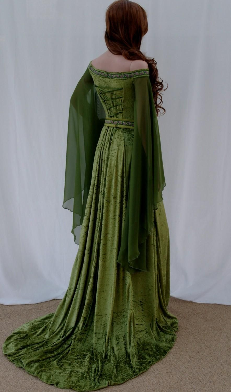 irish wedding dress Popular items for celtic wedding dress on Etsy