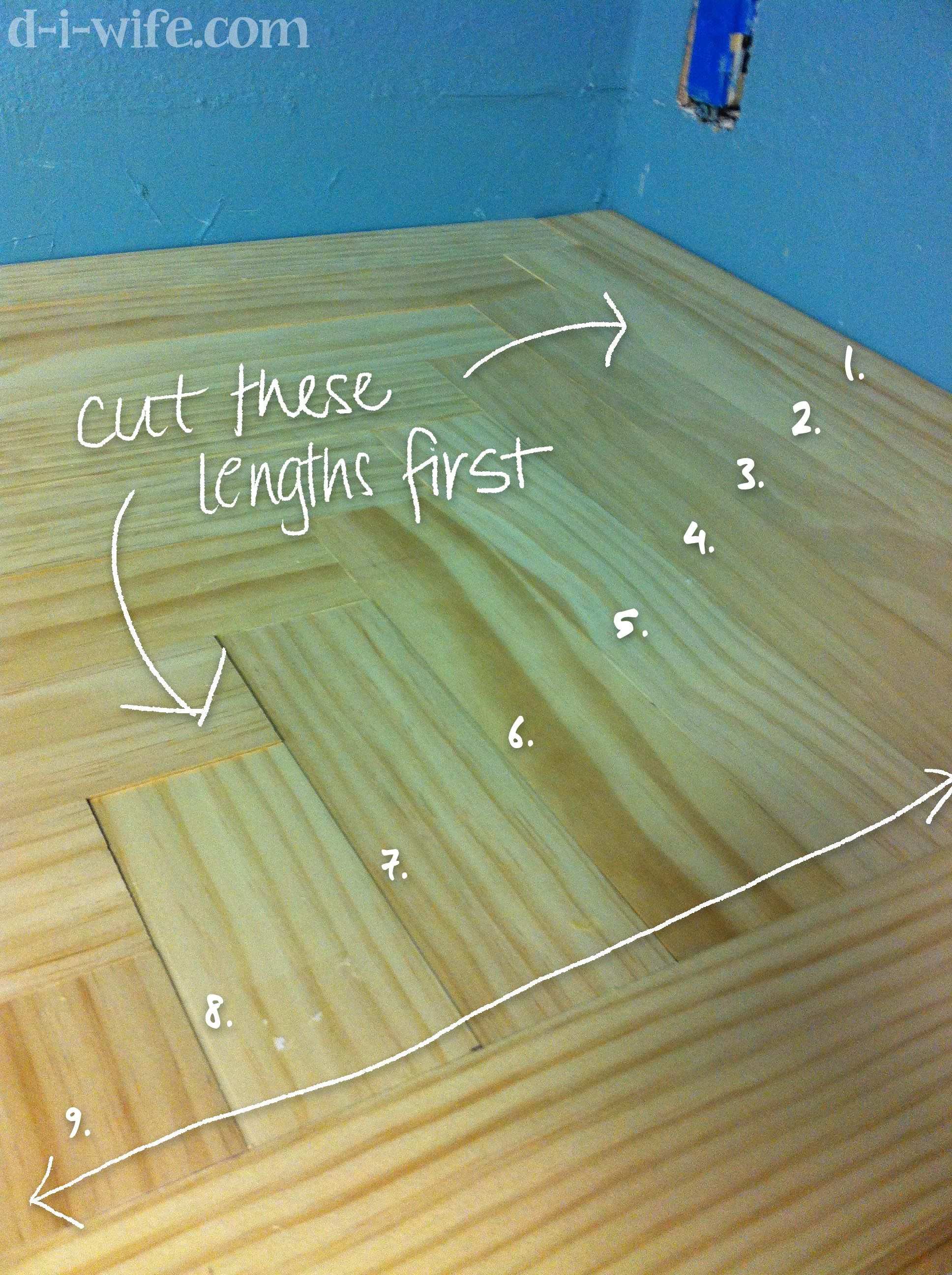 wooden kitchen countertops Kitchen Makeover Part Two DIY Wooden Countertops