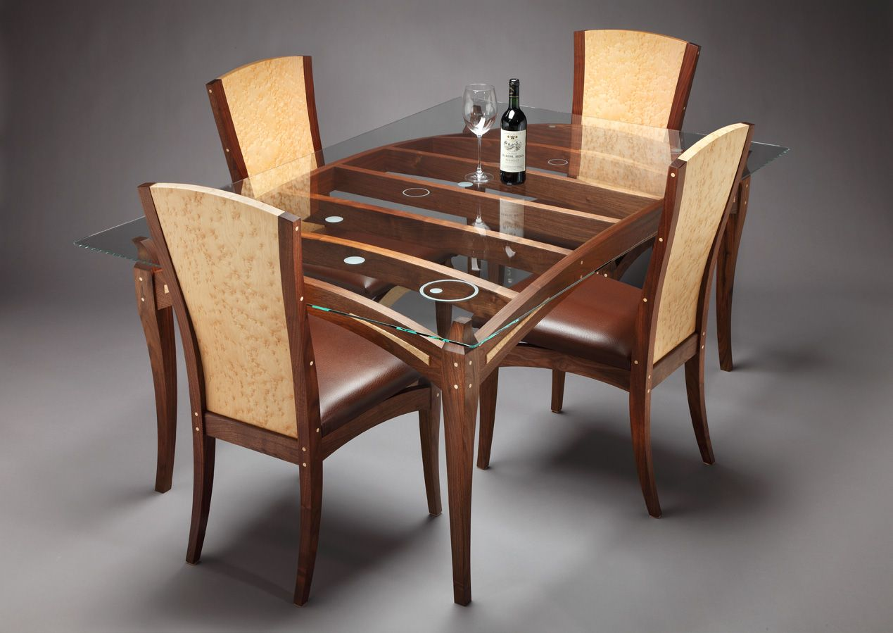 table wooden kitchen table wooden dining table designs with glass top Google Search