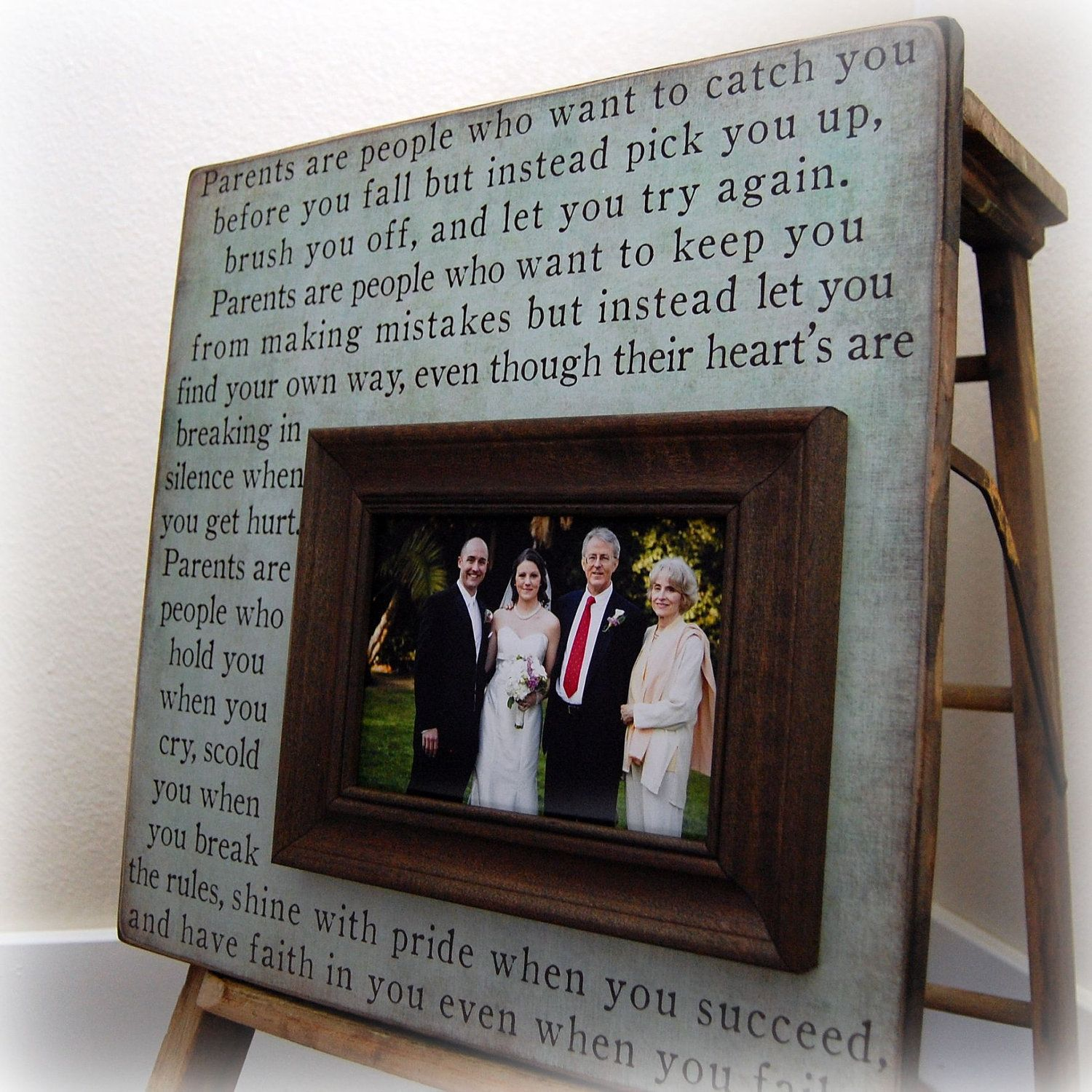 wedding gifts for parents parent s gift