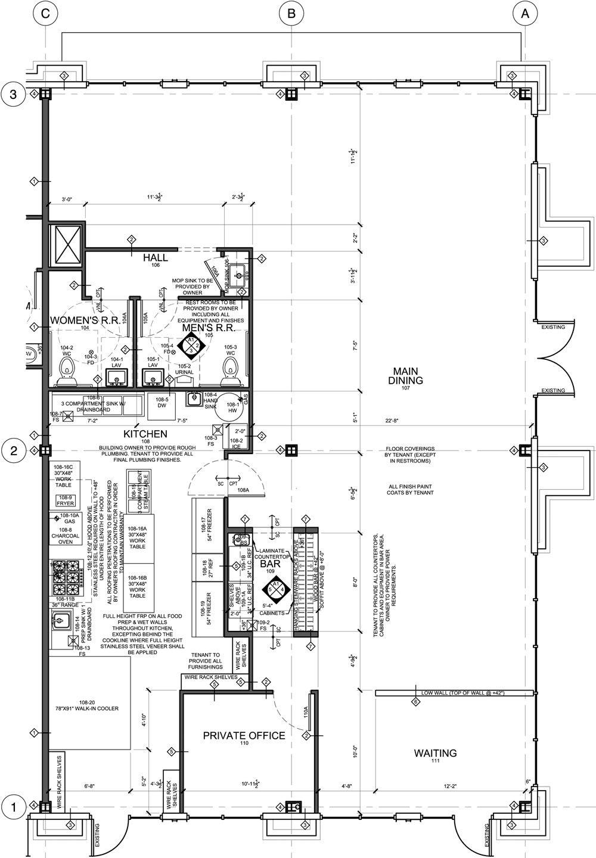 kitchen floor plans Designing A Restaurant Floor Plan Home Design and Decor Reviews