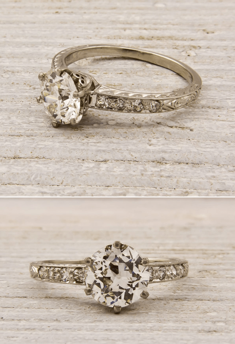 victorian wedding rings Antique engagement ring Nikki I don t want to get married again
