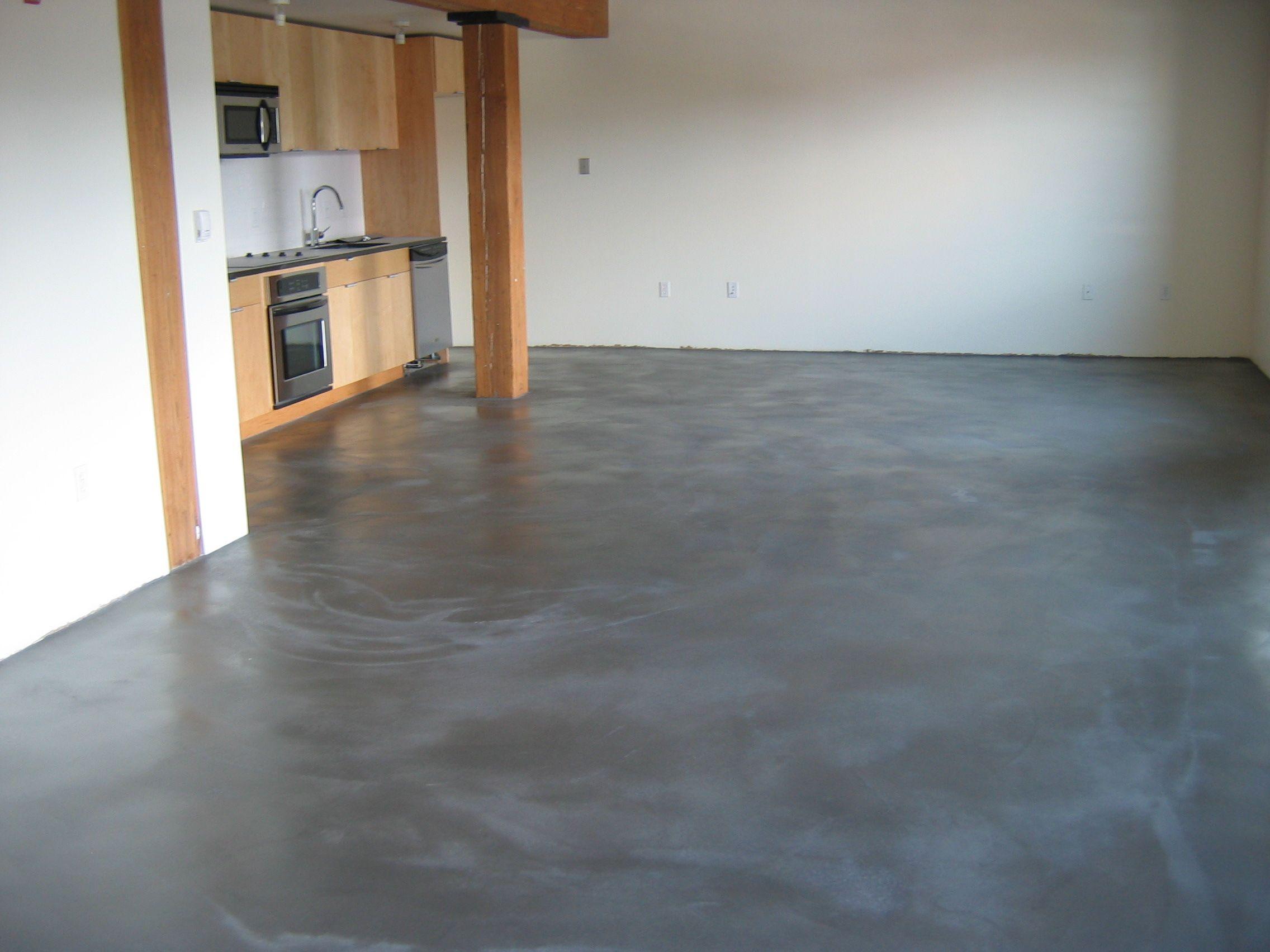 concrete floor kitchen poured concrete floors Concrete Polishing Concrete Floor Experts Save the Day in Boston