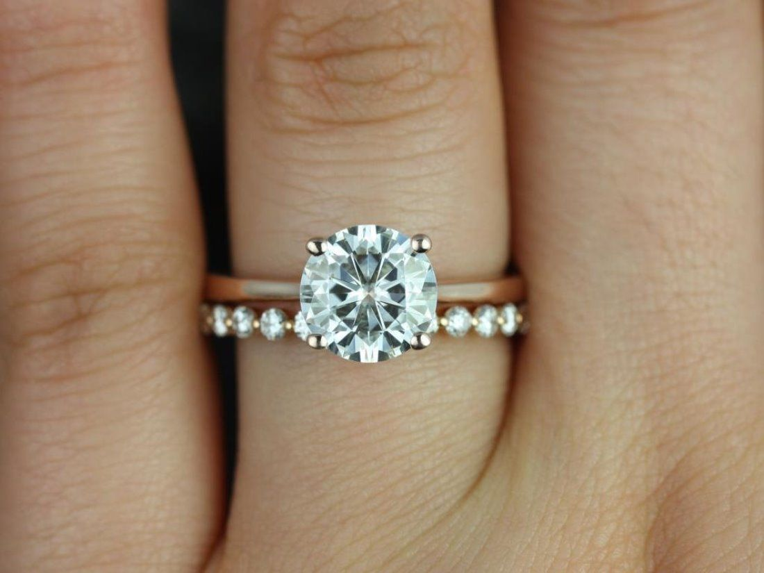 etsy wedding bands 13 Etsy Boutiques to Shop Gorgeous Engagement Rings