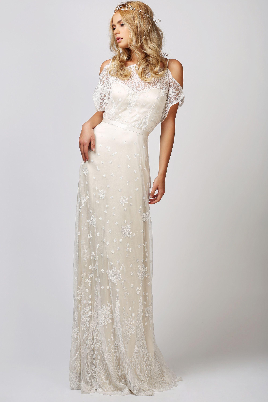 wedding dress shop online BABUSHKA BALLERINA Catherine Deane Charlotte Gown SHOP ONLINE www thebabushkaballerina com