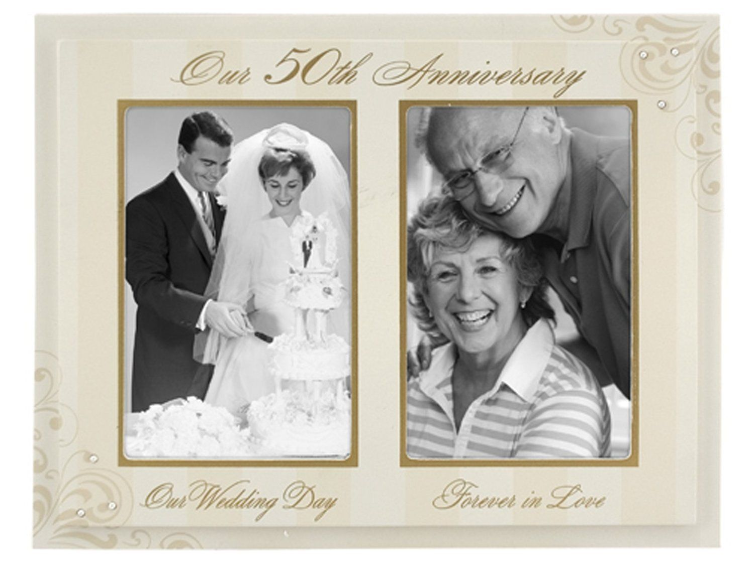 parent wedding gifts The Golden Years 50th Wedding Anniversary Gift Ideas for Parents