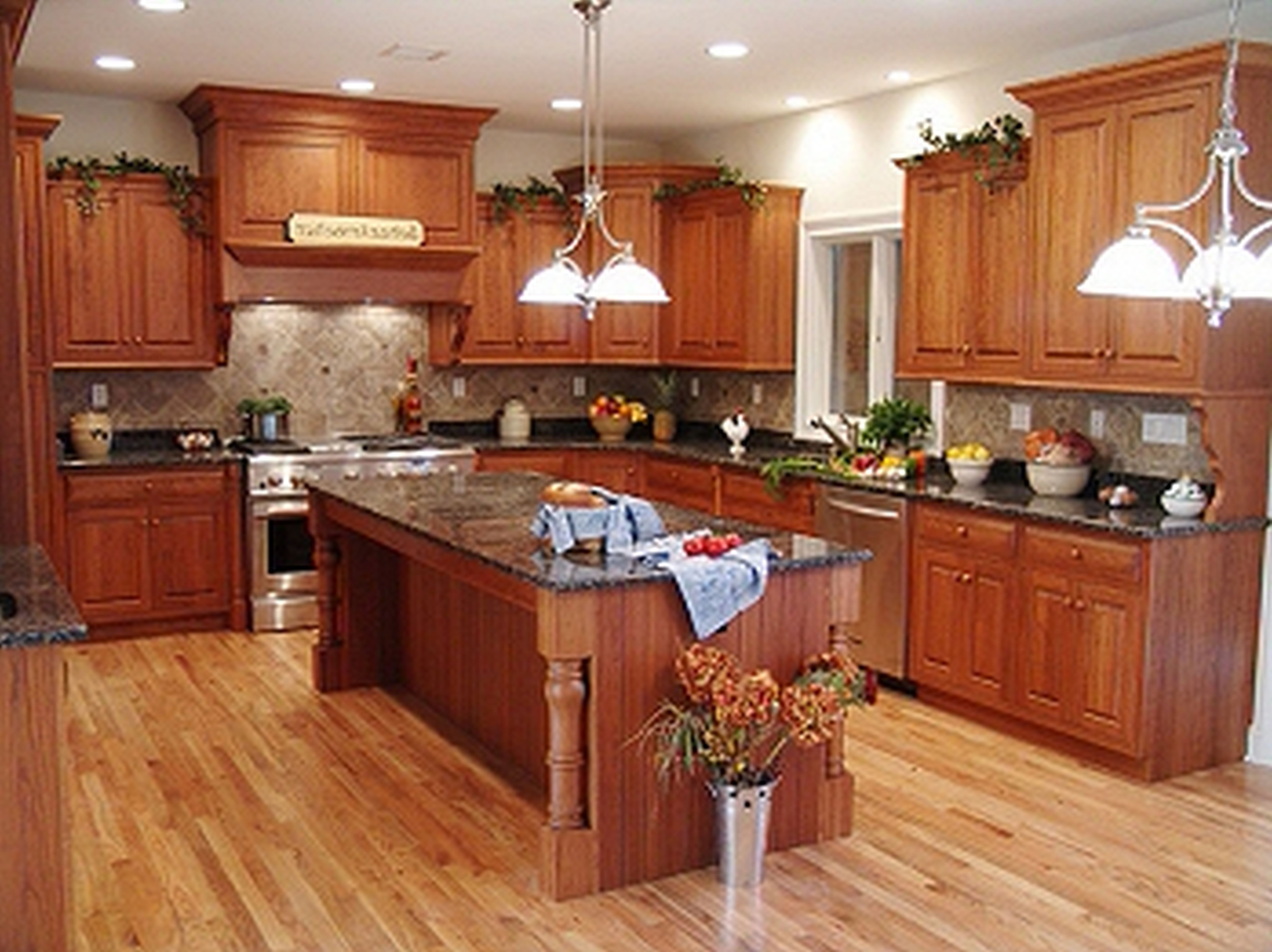 kitchen cabinets and flooring kitchen wood floors Rustic Kitchen Cabinets Fake Wooden Floor Plans With
