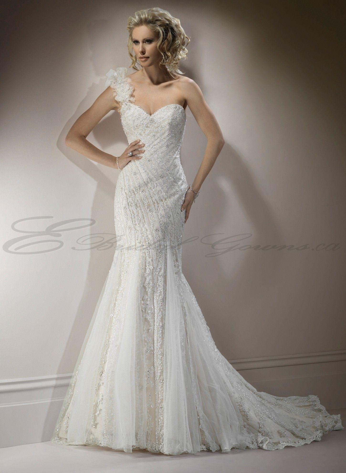 sweetheart mermaid wedding dresses Mermaid Wedding Gowns Lace Mermaid Sweetheart Neckline Fit and Flare Wedding Dress Canada