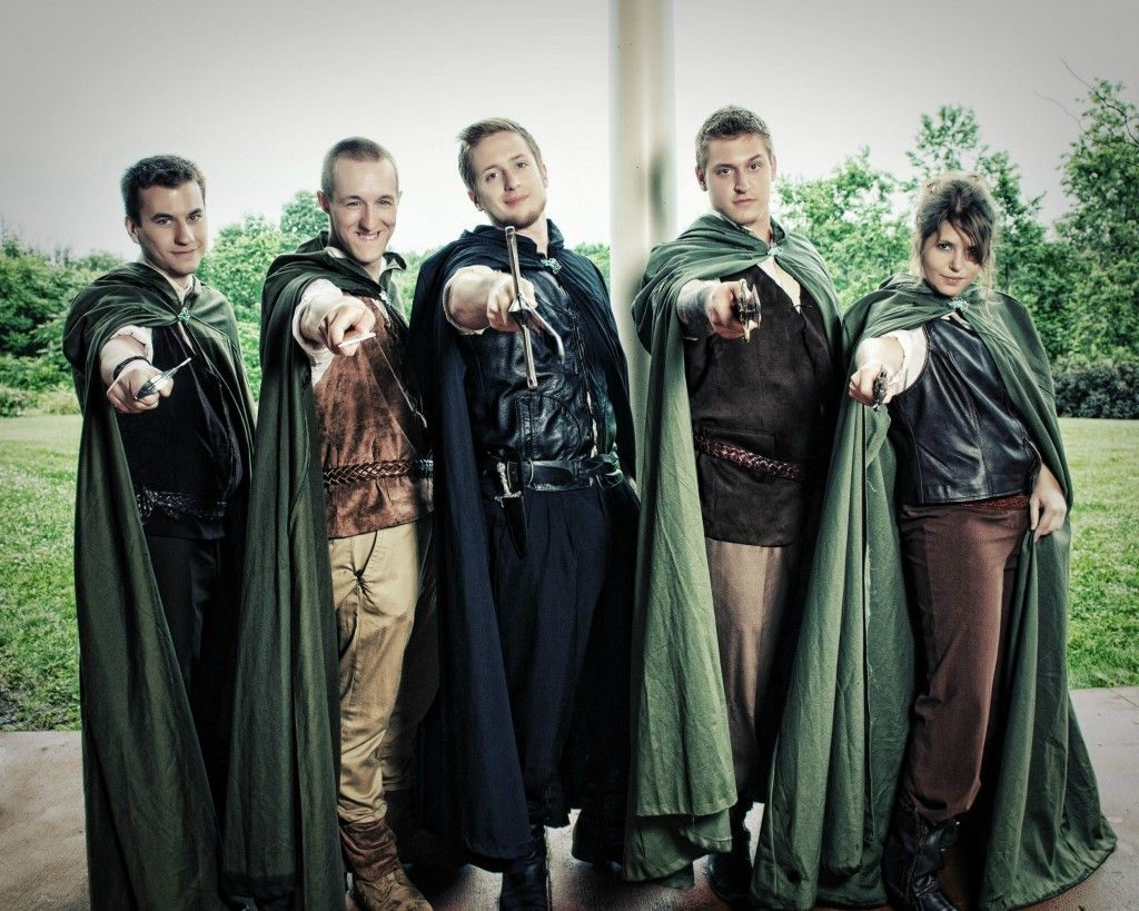 lord of the rings wedding lotr wedding ring Groomsmen Outfit in Lord of the Ring Theme