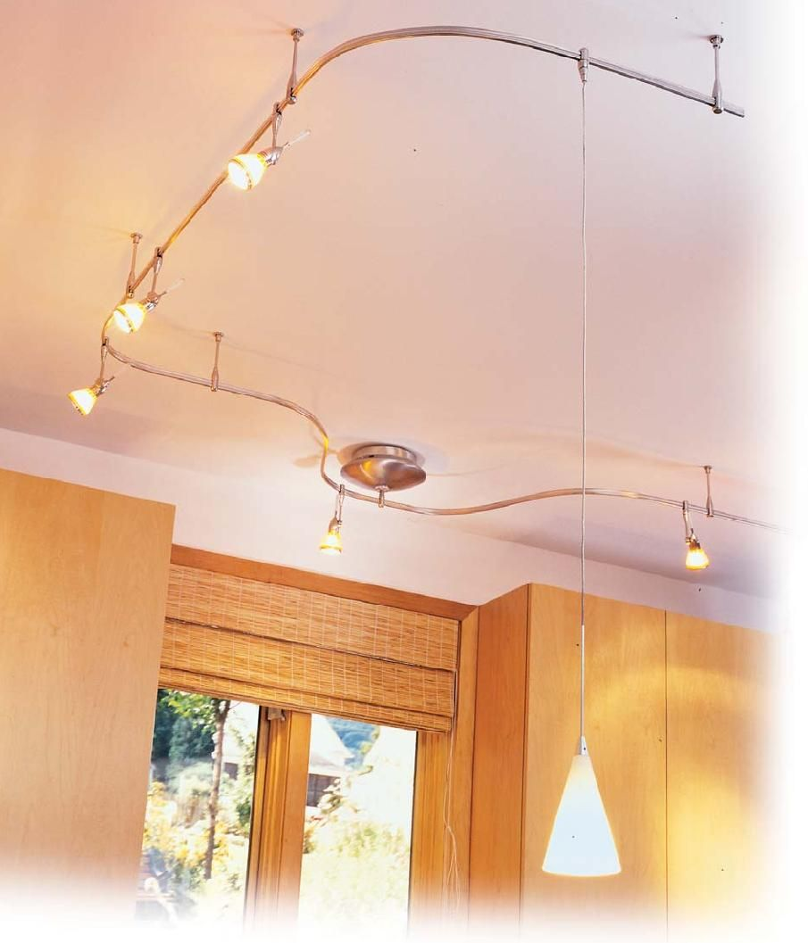 track lighting kitchen Paul Ryan of the DIY Network suggests using flexible track lighting to meet the high standards in today s kitchen lighting requirements and for ease of