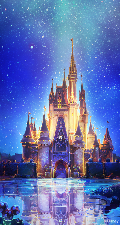 Cinderella Castle ★ Download more Disney iPhone Wallpapers at @prettywallpaper … | Pinteres…
