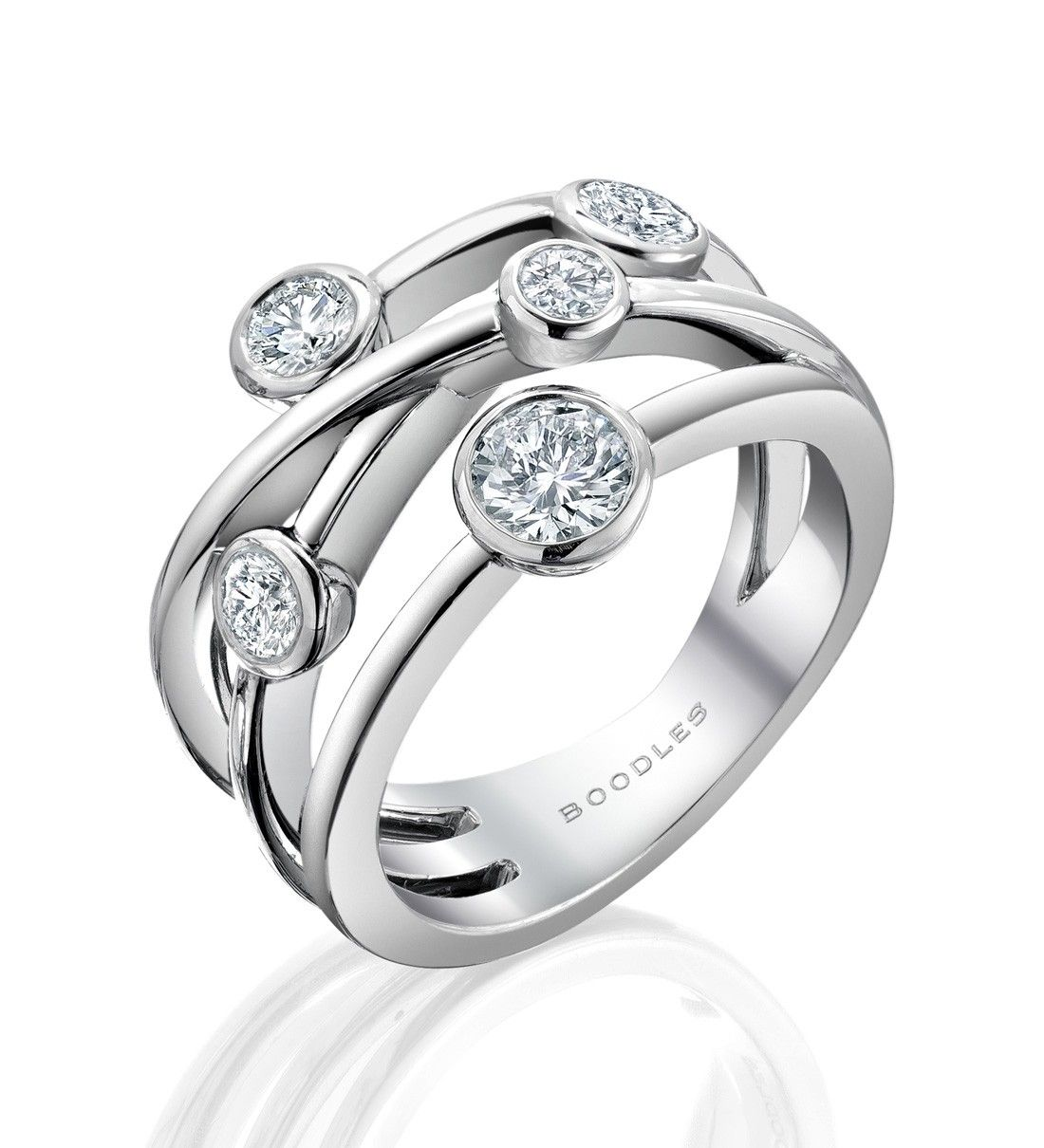 wedding band sets multi band wedding ring 21 best images about wedding band sets on Pinterest Custom wedding rings Modern engagement rings and Custom jewelry