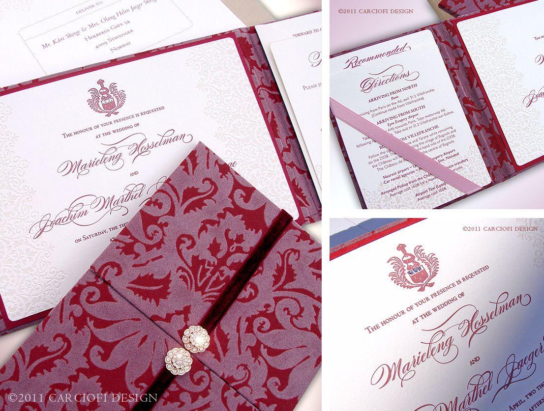 wedding invitations design damask wedding invitation carciofi design blog the wow factor luxury unique wedding invitations by invite by