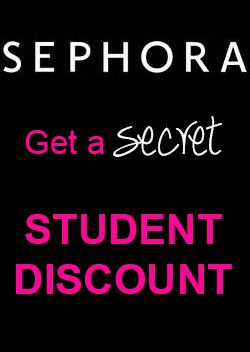 Get a secret student discount at Sephora   Makeup ...