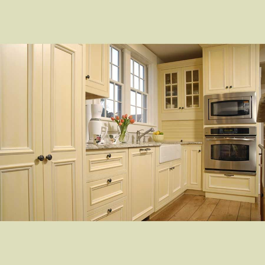 oak kitchen cabinet doors painted cream cabinets images Solid Wood Kitchen Cabinet China Cream Color Wood Cabinet