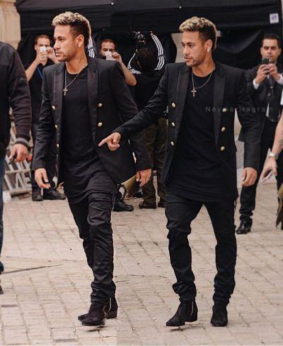 Neymar attended Paris Fashion week 2017. #pfw #paris # ...