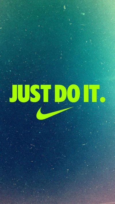 Just Do It iPhone5 Wallpaper (640x1136)   iPhone Backgrounds   Pinterest   Wallpaper, Nike ...