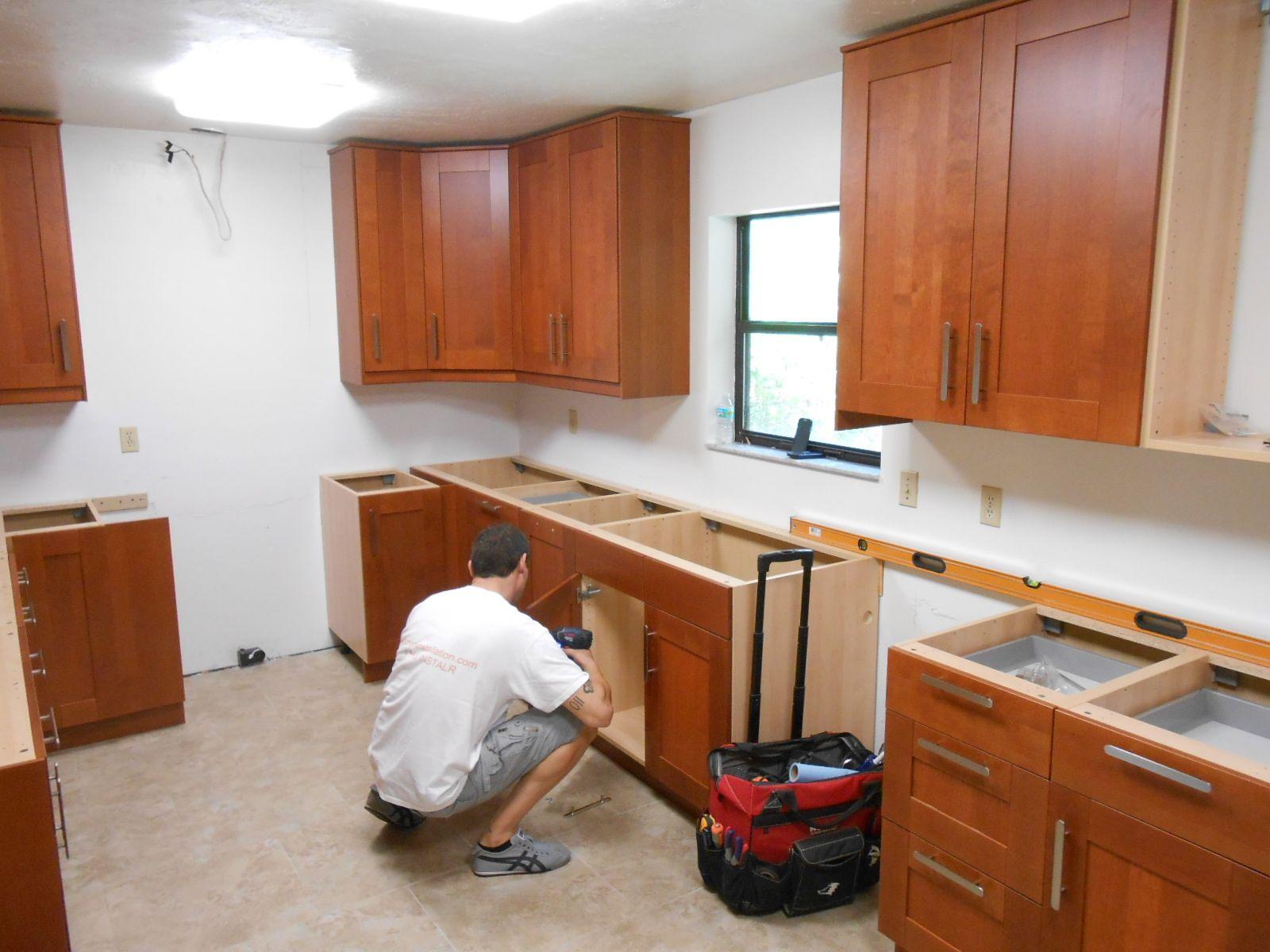 installing ikea kitchen cabinets install kitchen cabinets