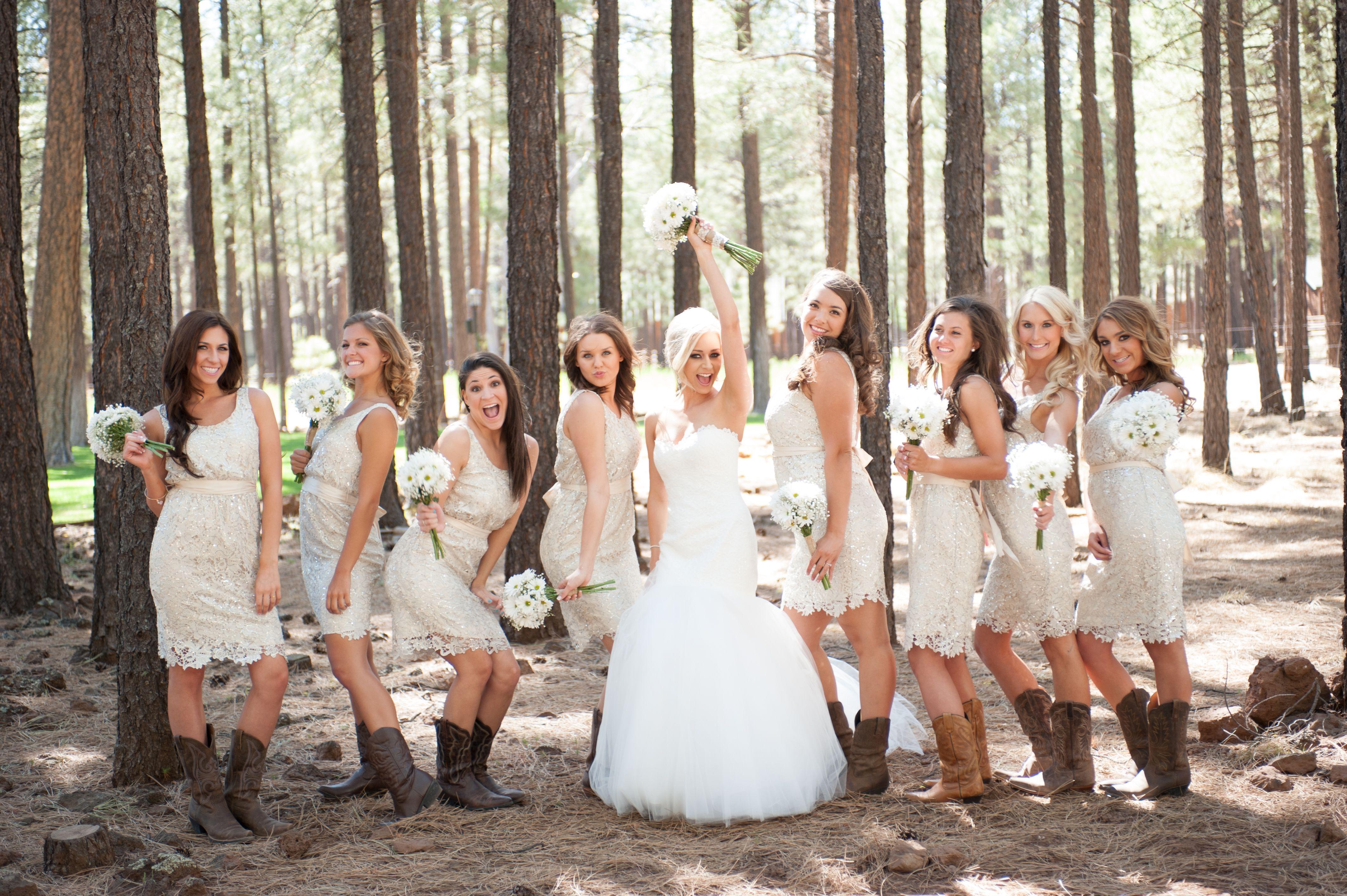 outdoor wedding dresses Bridesmaid