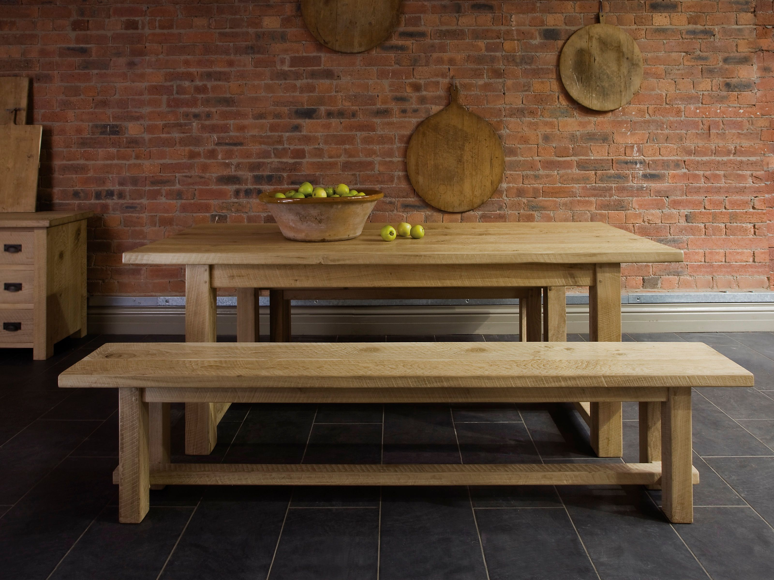 wooden kitchen tables Farmhouse wooden kitchen tables for interior designs will be best suited in rustic country styles Farmhouse kitchen tables generally constructed from oak