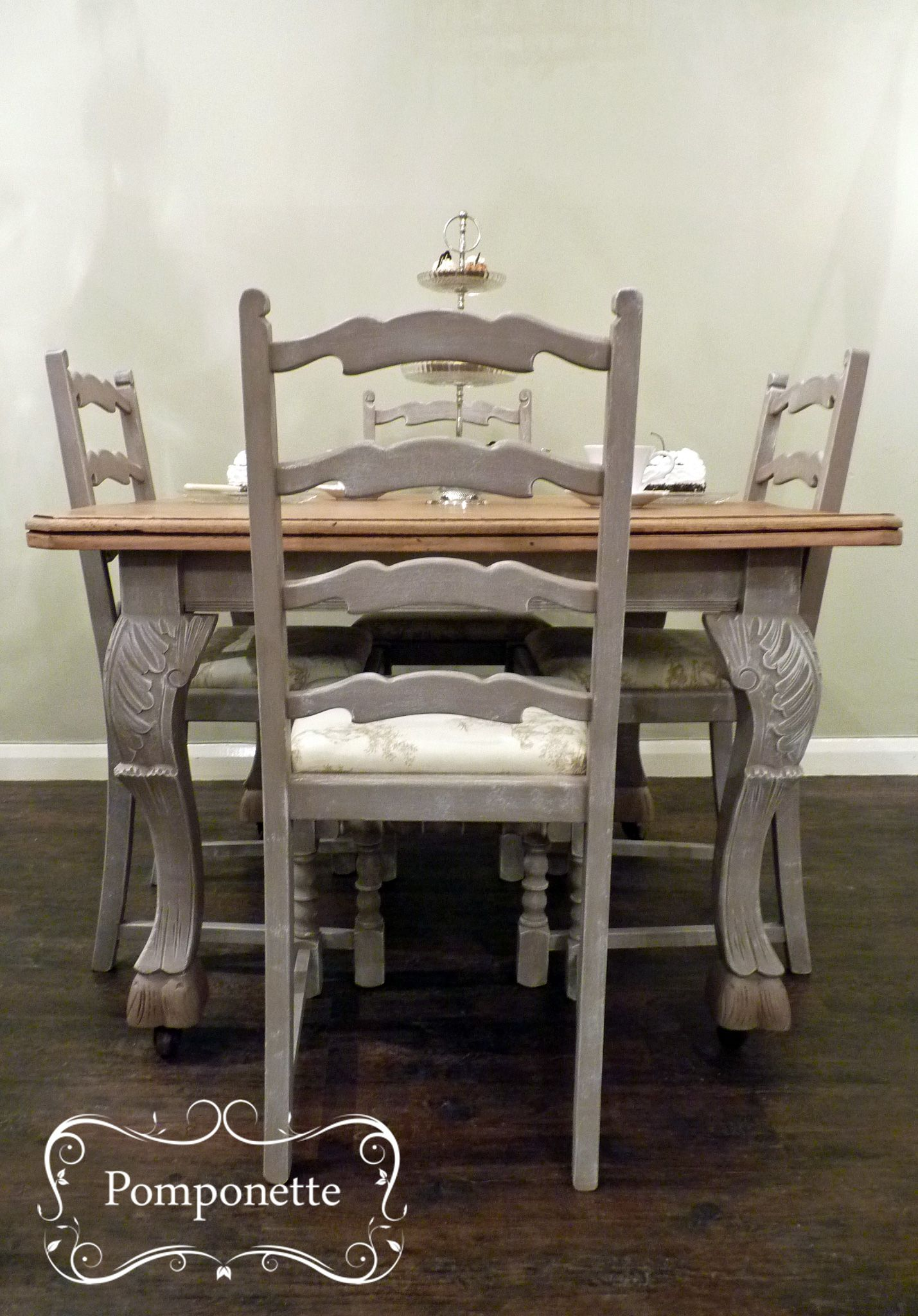 bistro kitchen table Bistro dining table 4 chairs Chalk Paint by Annie Sloan stockists trainers