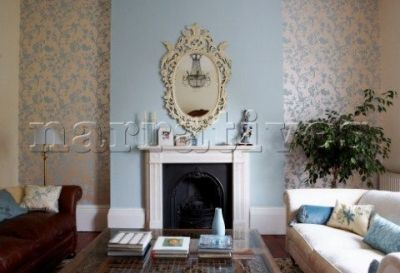 Oriental Garden wallpaper in Duck Egg from Laura Ashley - going to do our bedroom in this   Home ...
