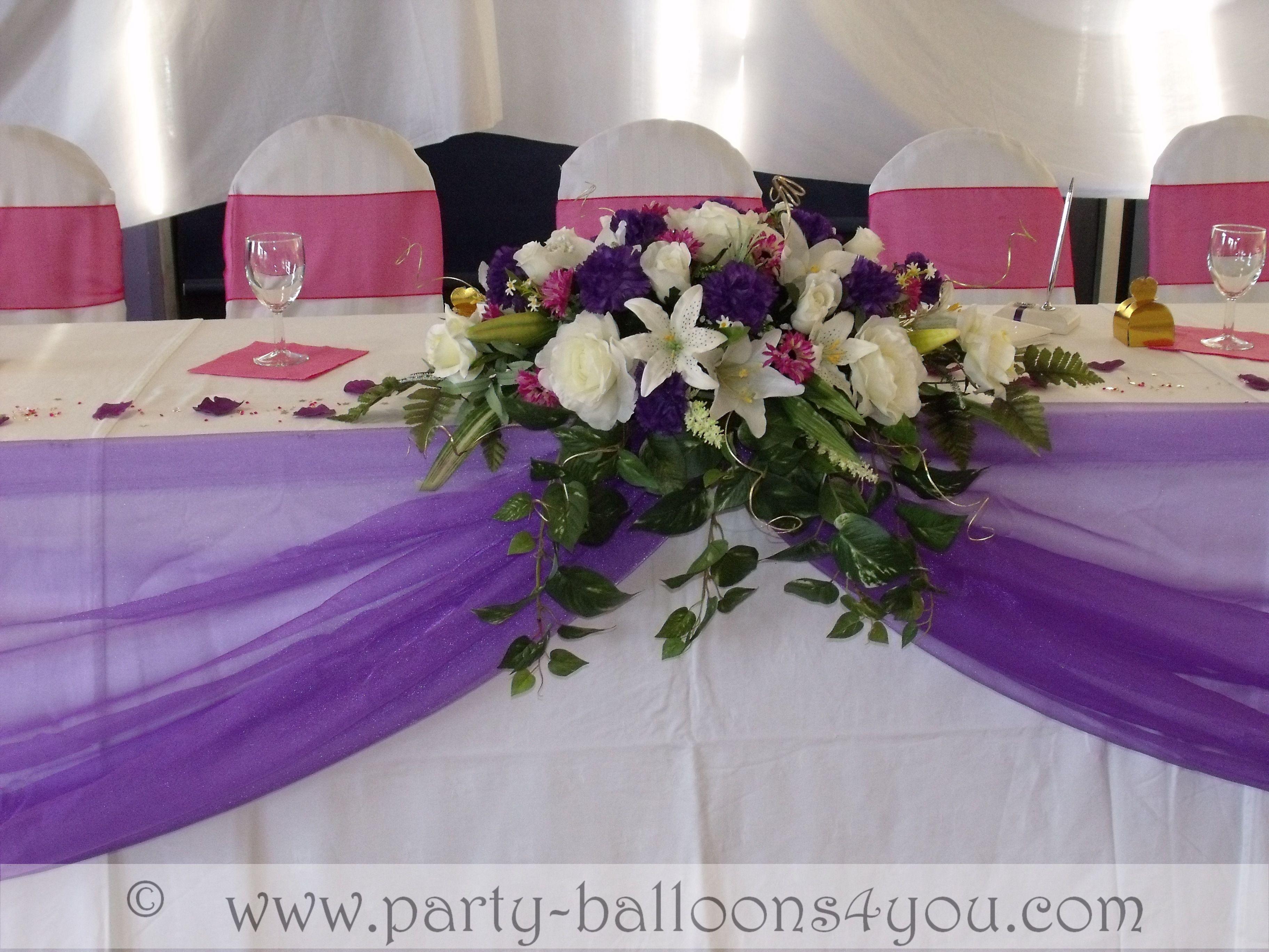 wedding table centerpieces Wedding Venue Decorations Done at Goals Soccer Centre Brislington Bristol
