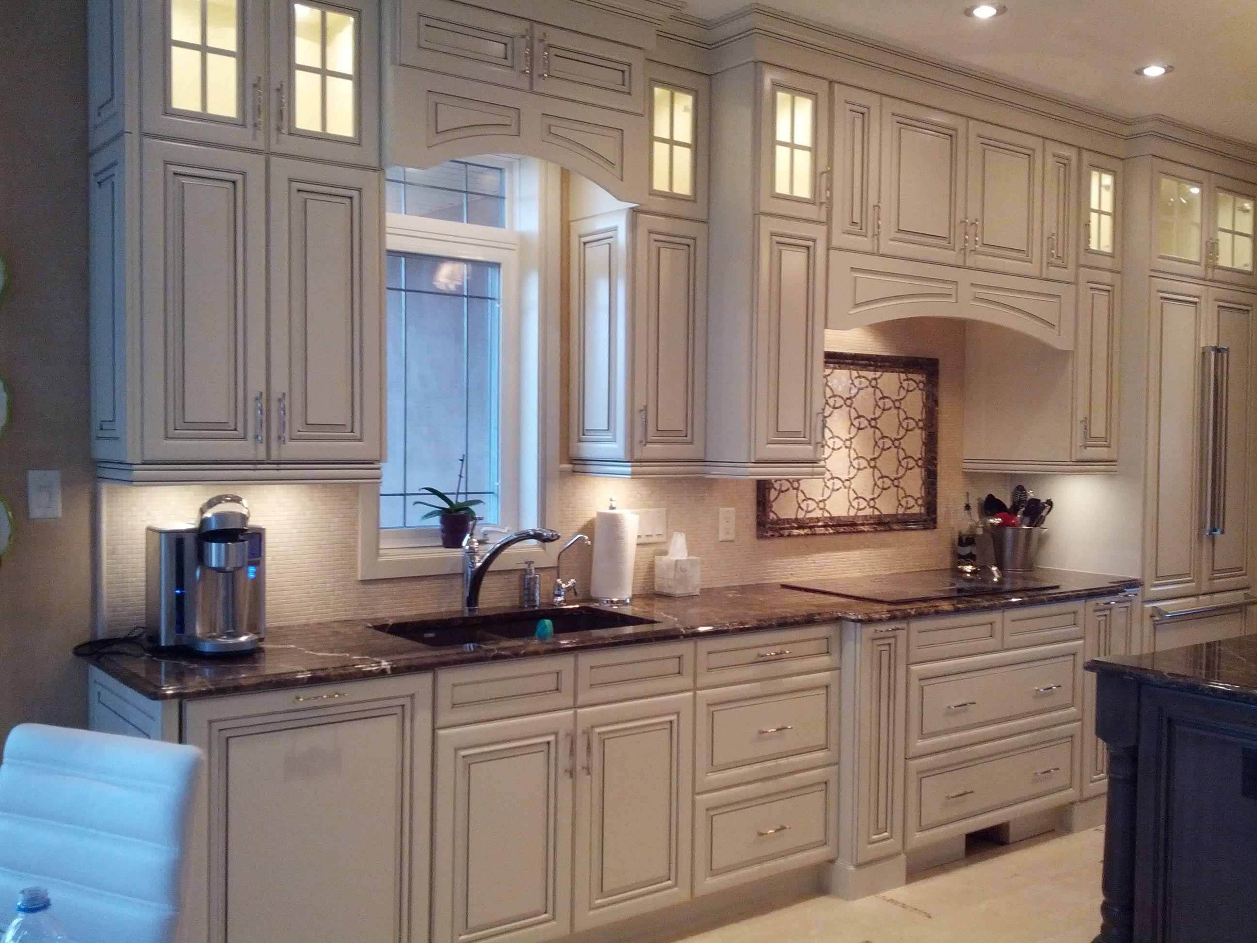 my kitchen designs kitchen craft cabinets Cabinetry Kitchen Craft Door style Paxson Color Seashell W Smoke Glaze Species