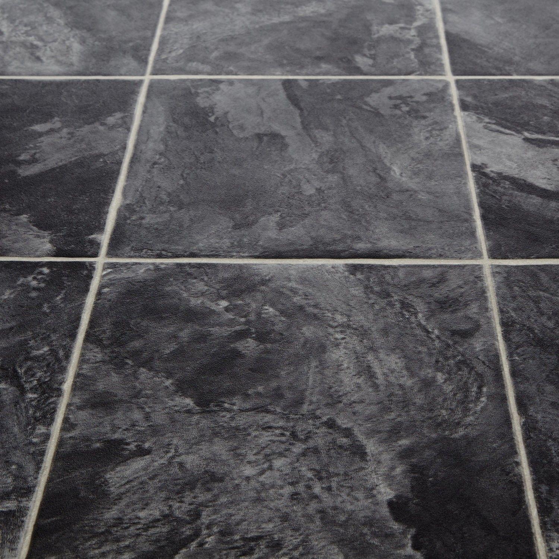 kitchen floor lino Mercury Colibri Stone Tile Vinyl Flooring kitchen 8
