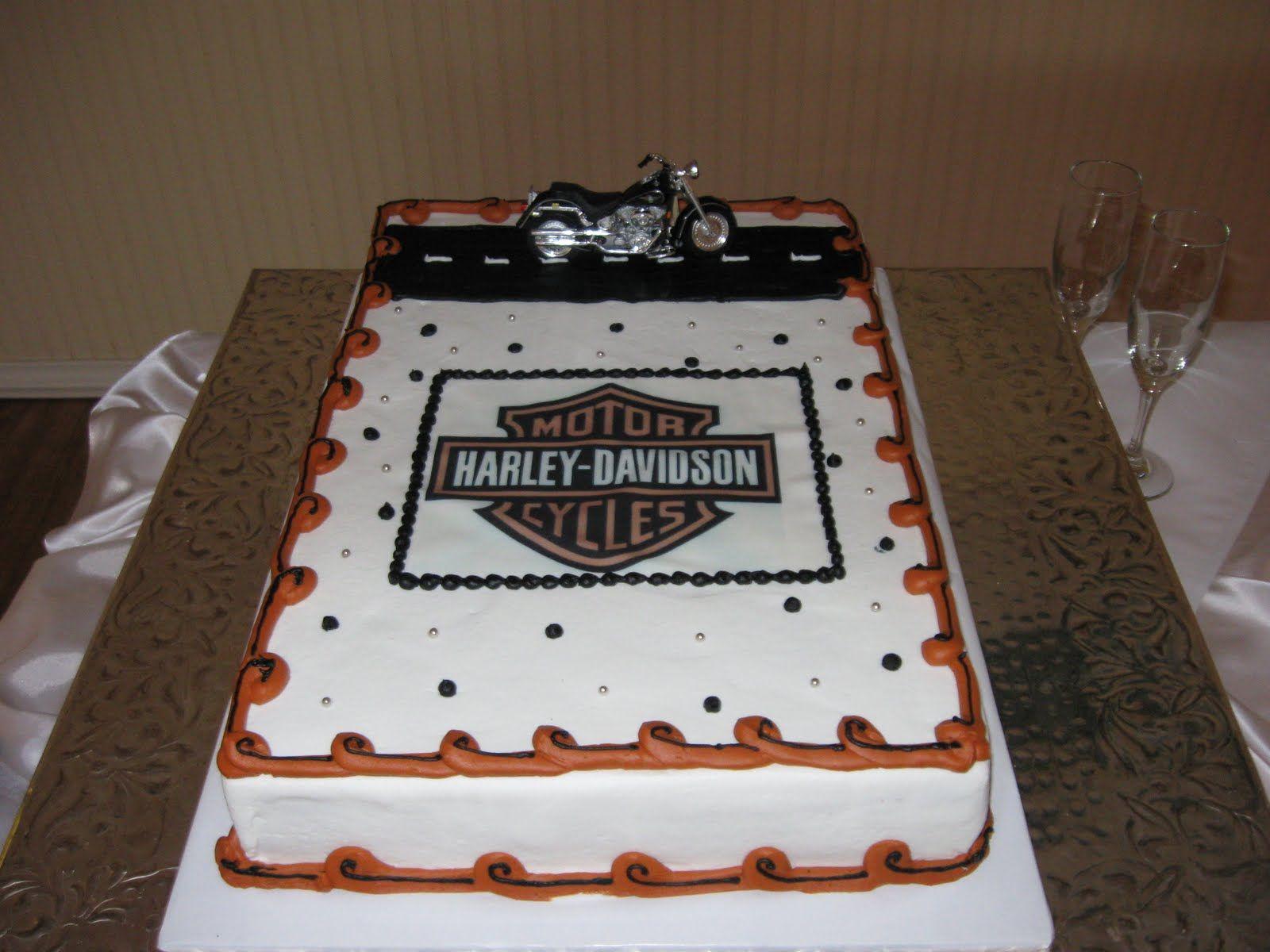 harley davidson wedding dresses Harley Davidson Grooms Cake Ideas Walnut Creek Chapel Tammy Tolle Tim Frakes Wedding