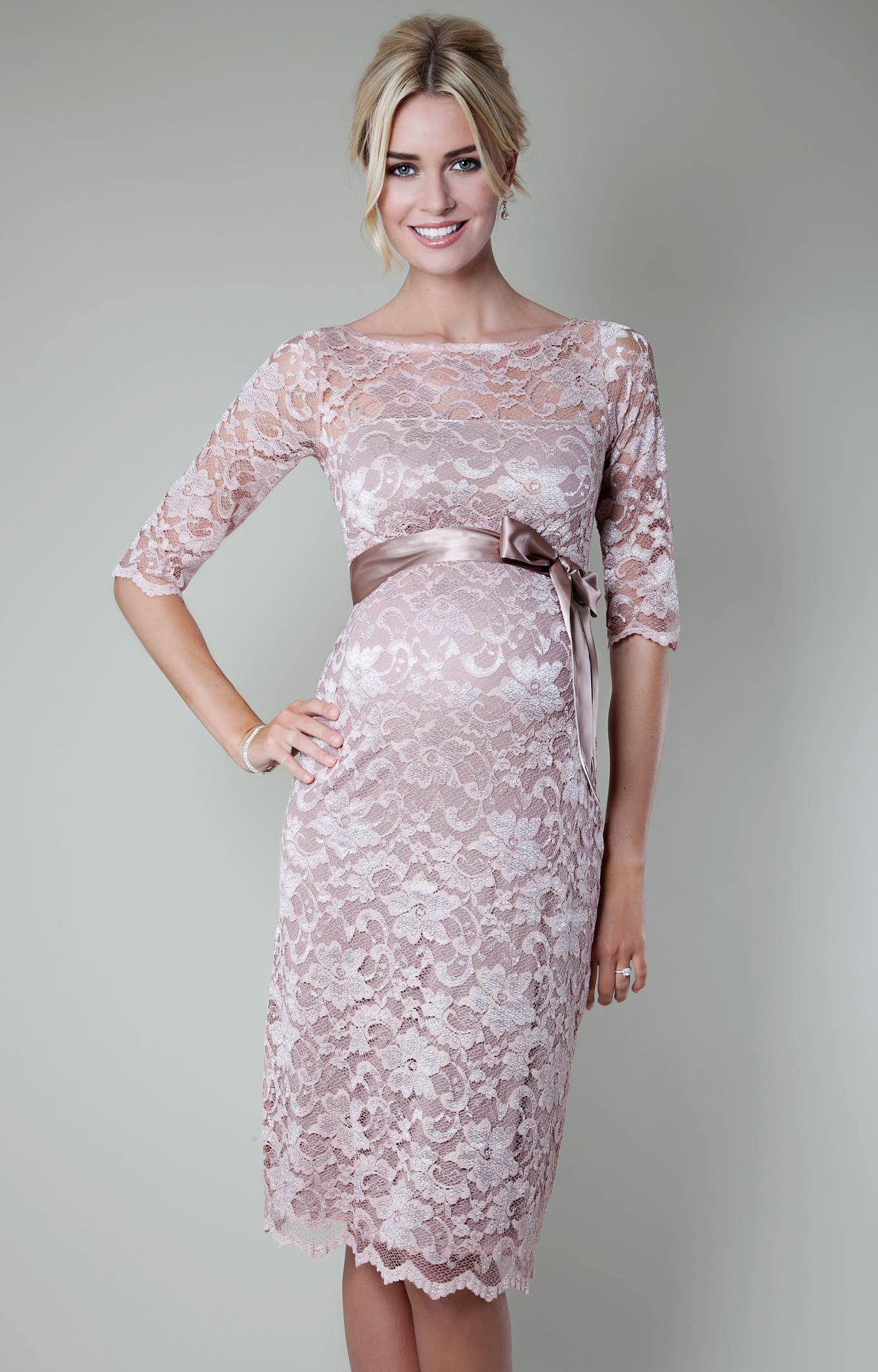 pregnancy wedding dresses Amelia Dress Short
