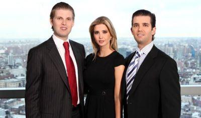 Trump Organization Next Generation: Donald Jr Ivanka Eric Trump Hotel Collection Real Estate ...
