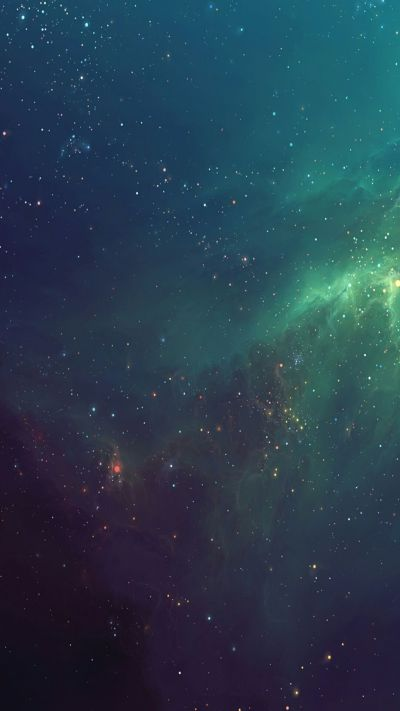Starry Space Apple iPhone HD Wallpapers. Tap to check out more Nature landscape, Galaxy iPhone ...