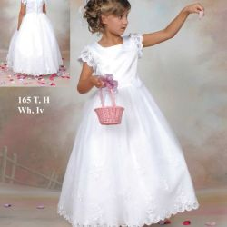 Glamorous White Hottest Best Sell Square Neckline First Communion