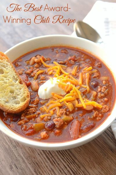 The Best Chili Recipe You Could Ever Ask For | Recipe ...