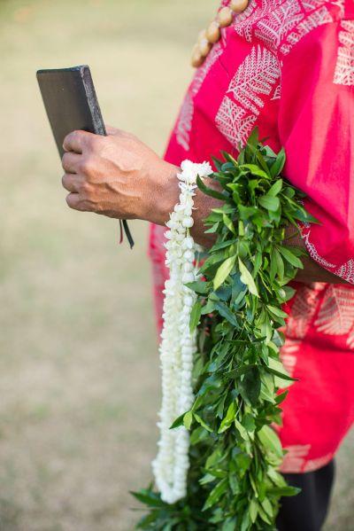 Traditional Hawaiian leis for the bride and groom | Modern ...