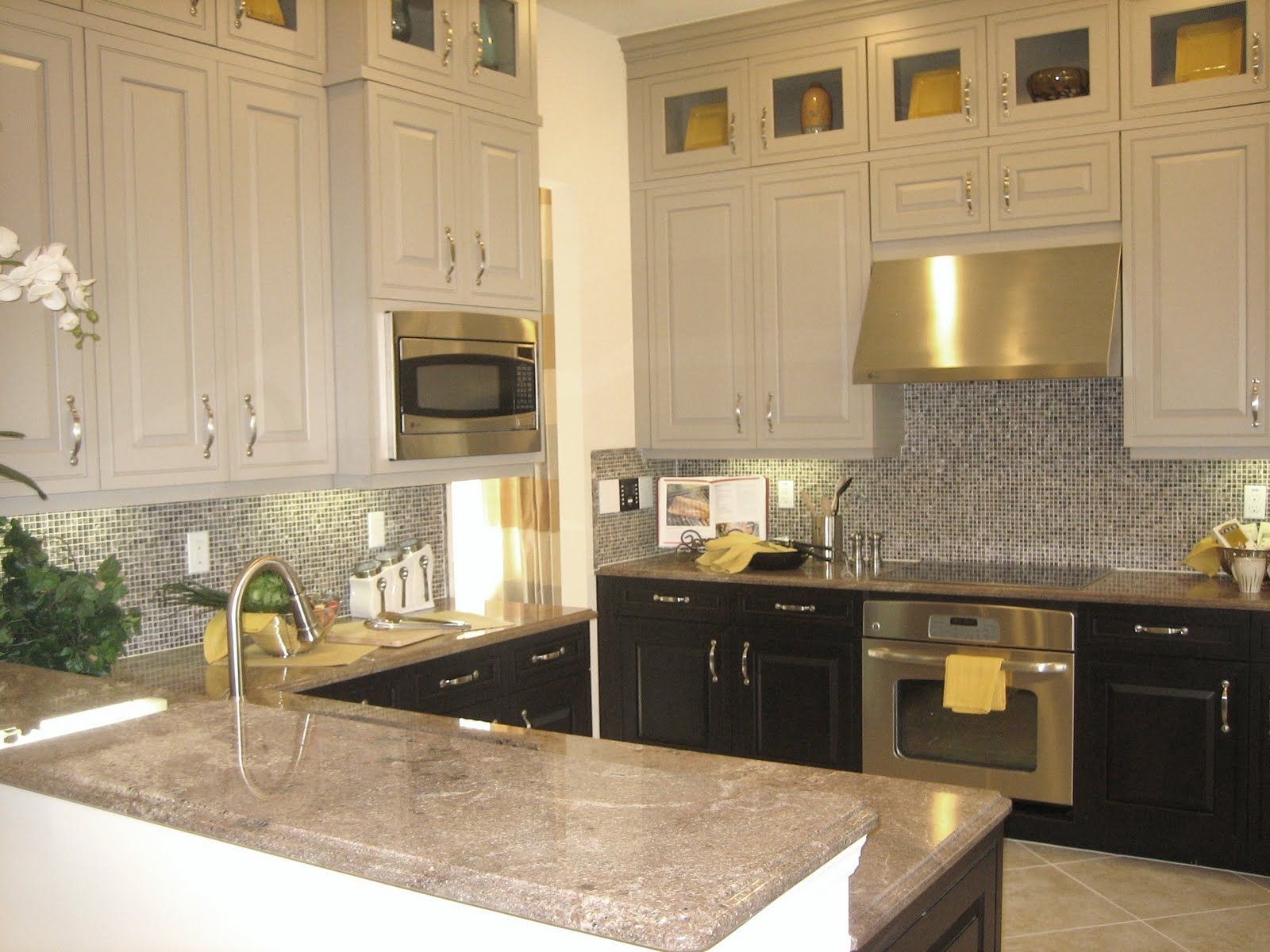 kitchen two tone kitchen cabinets best images about Kitchen on Pinterest Maple floors Islands and Two tone kitchen cabinets