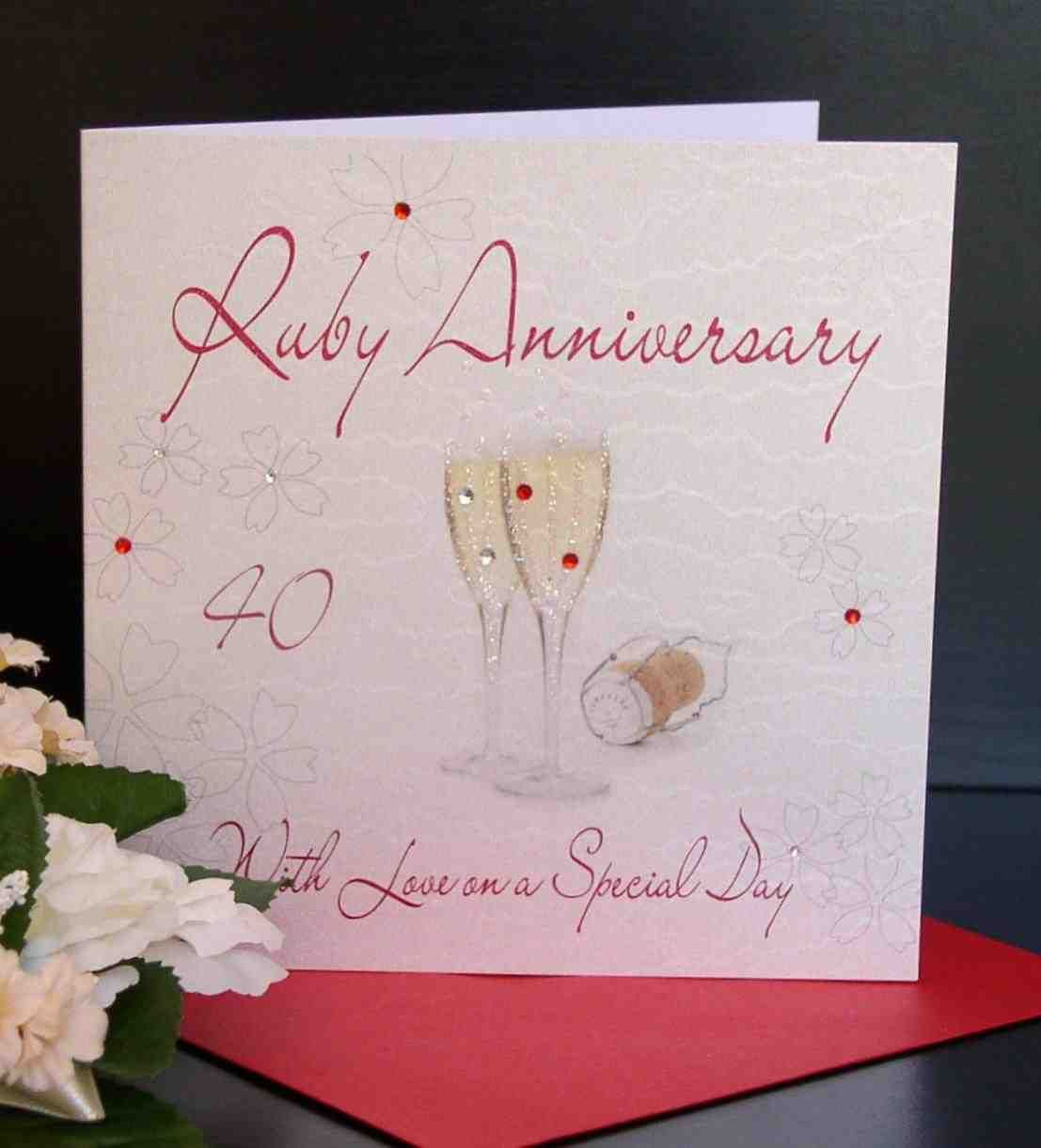 parent wedding gifts 40Th Wedding Anniversary Gifts For Parents