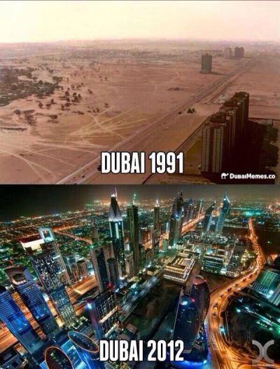 #Dubai #UAE before and after   UAE, Dubai   Pinterest ...
