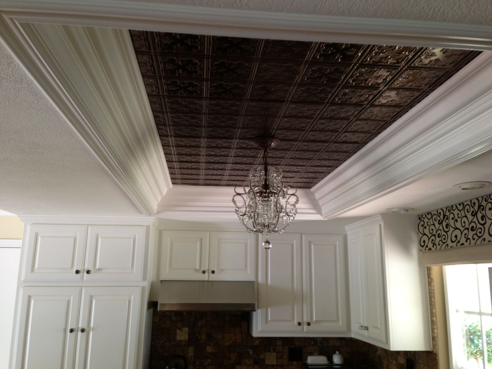 fluorescent kitchen lighting kitchen ceiling tiles and hanging light replace dated fluorescent lighting